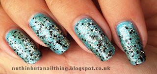 Collection Bedazzled Nail Effects : Tea at the Glitz