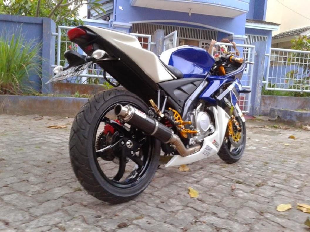 MOTOR KEREN Modifikasi Yamaha Vixion 2015