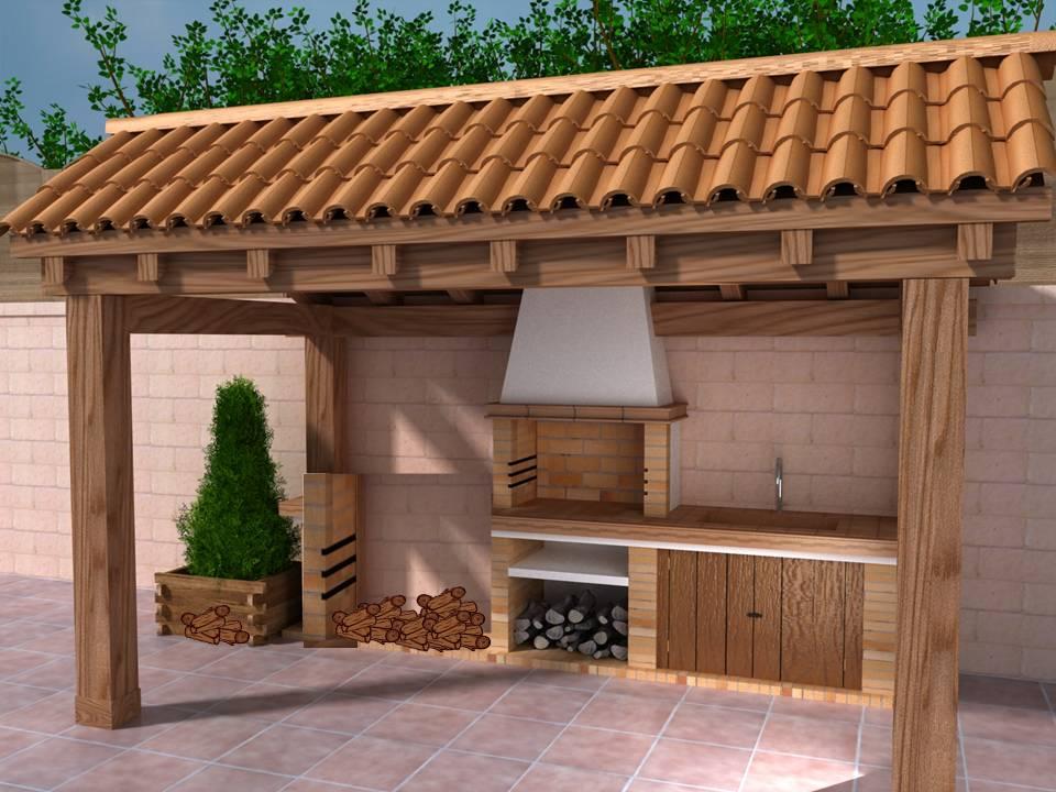 Conjunto residencial quintas de morelia p h for Asadores para carne jardin