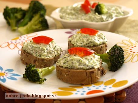 Brokolicová nátierka - recepty