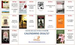 Calendario de lecturas 2016-17
