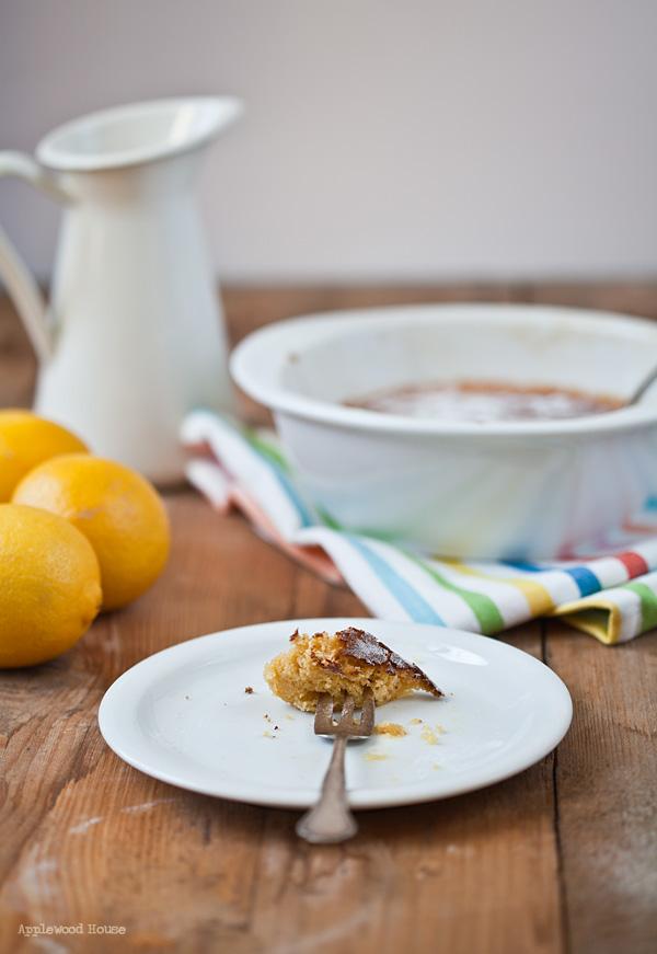Zitrone Lemon Pudding