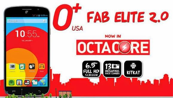 O+ Fab Elite 2.0, 6.5-inch FHD Octa Core KitKat Phablet
