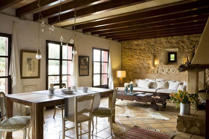 decoracion de interiores de casas estilo rustico:ESTILO RUSTICO: Comedores Estilo Rustico