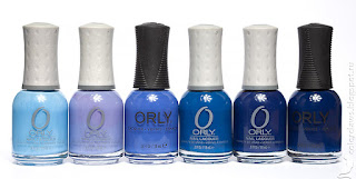 Orly Snowcone Orly Cashmere Cardigan Orly Indie Orly Shockwave Orly La Playa Orly Midnight Show