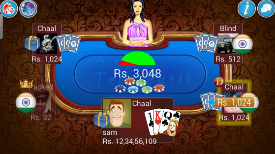 Unlimited Chips Teen Patti