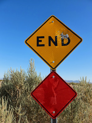 End of the Road? Near East Simpson Road and East Highline Canal Road, Imperial Valley