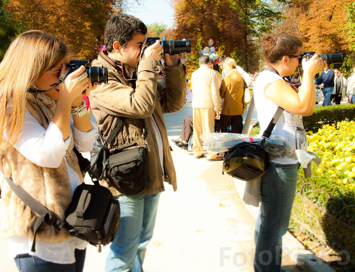 FOTOGRAFÍA EN EL RETIRO