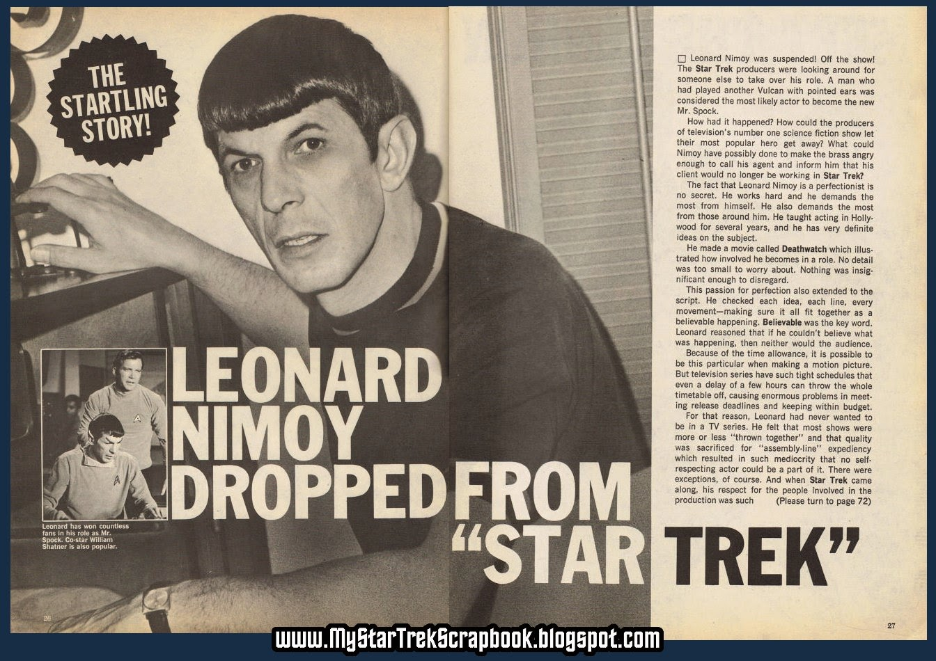 Are Leonard Nimoy And Leonard Cohen Related 2015   Personal Blog