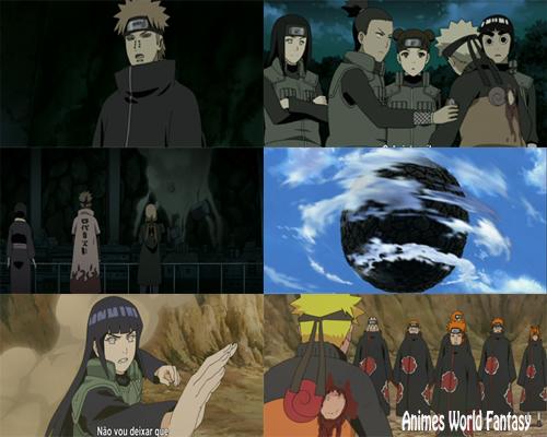 Anime Naruto Shippuden Episódio 447 A Outra Lua!