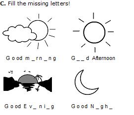 Modul Bahasa Inggris Kelas 1 Sd Greetings And Partings Bahasa Inggris Anak Indonesia