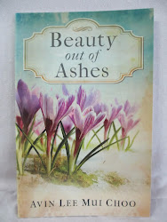 My first book: Beauty Out Of Ashes