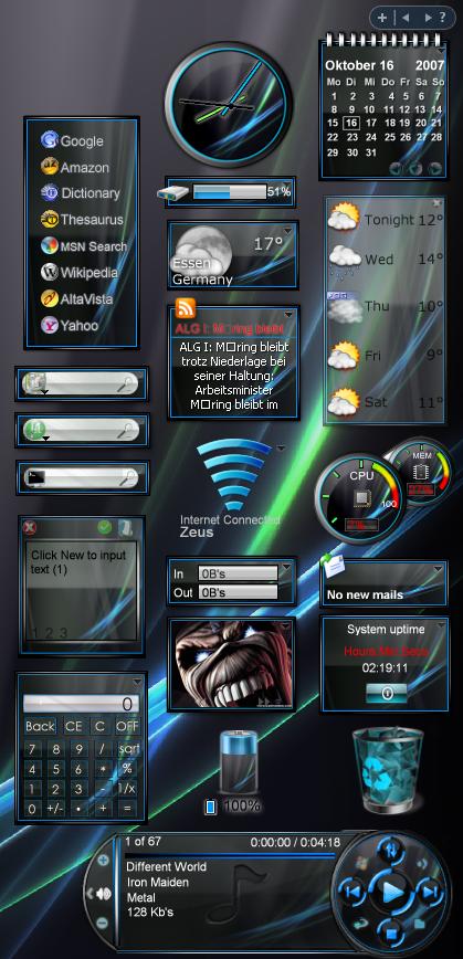 Memasang Gadget Sidebar Windows 8 | Computer and Techno