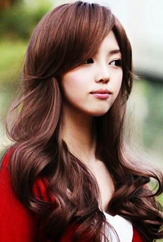 Model rambut panjang terbaru 2013