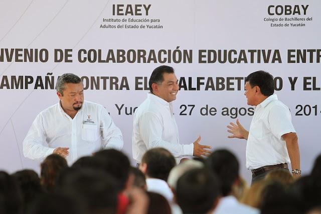 Yucatán, referente en materia de colaboración para la educación de adultos
