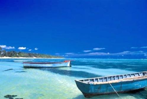 Praia nas Ilhas Maurício