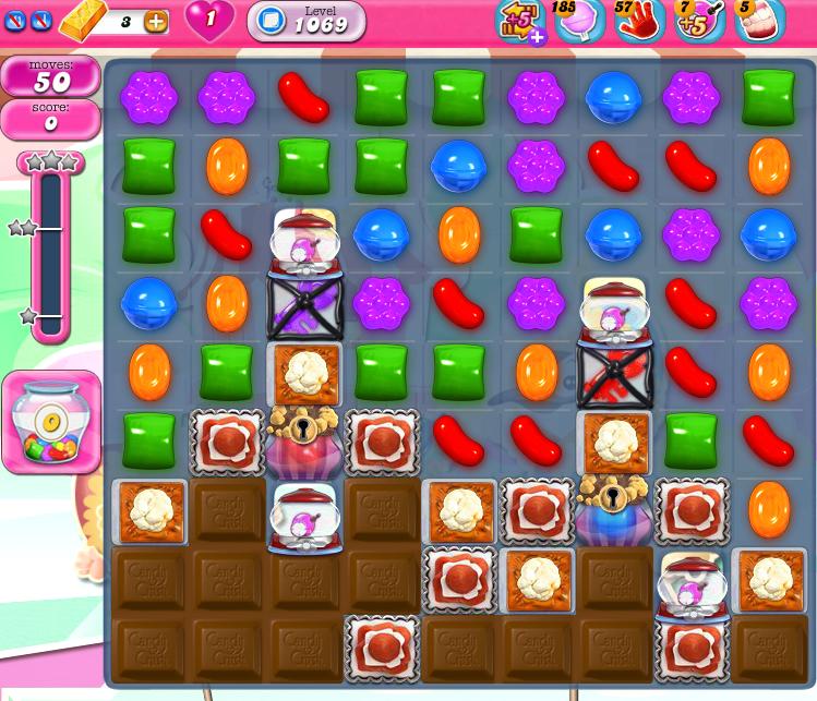 Candy Crush Saga 1069