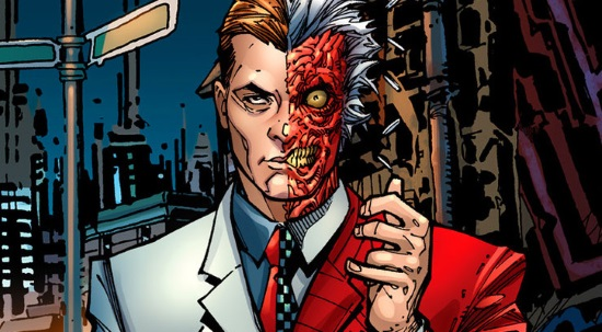 Face two face ( Harvey dent: 10 de febrero gotham + 18) Asdg