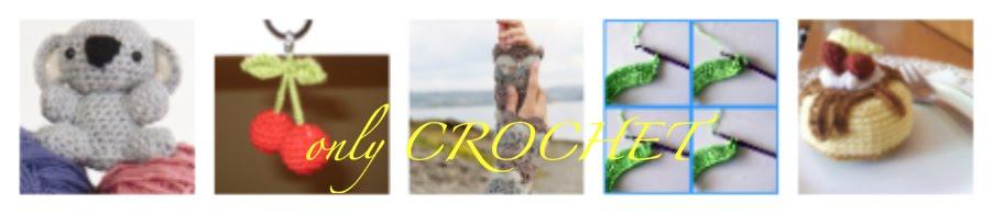 only CROCHET- angol minták magyarul