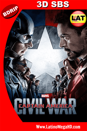 Capitán América: Civil War (2016) [IMAX Edition] Latino Full 3D SBS BDRIP 1080P (2016)