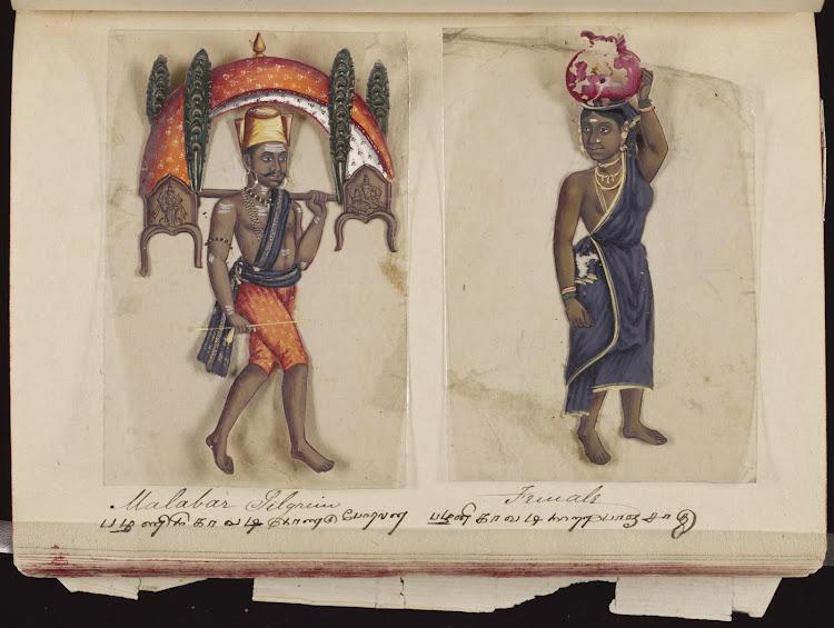 Malabar pilgrim and  Female