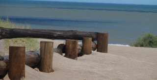 cariló acceso a playa