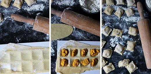 Möhrenravioli mit Mangold und Zitronensauce Selbstgemachte Ravioli Rezept Blog Holunderweg 18