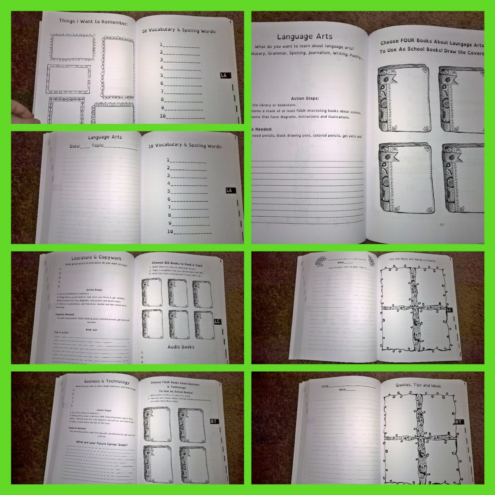 Its a good full journals and books from the thinking tree ages 3 to 7 fun schooling journal do it yourself homeschooling for beginners homeschool prep book for new readers and non readers solutioingenieria Choice Image