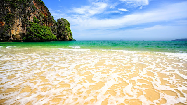 Tropical Beach Paradise Thailand HD Wallpaper