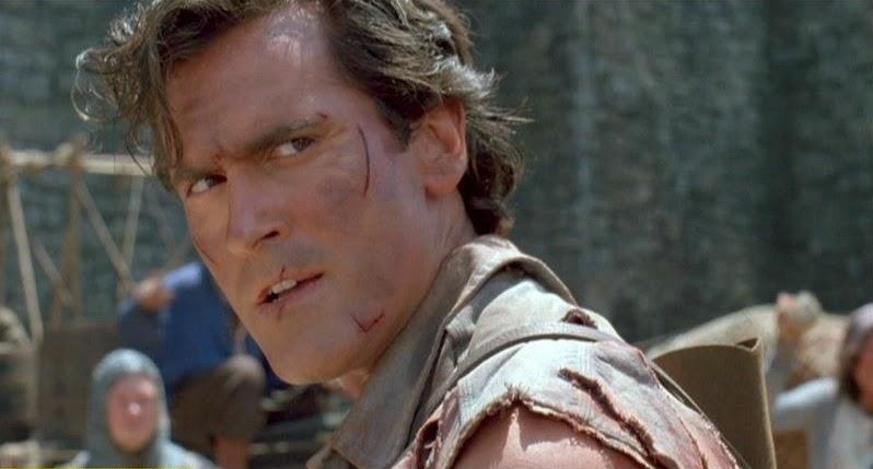 ash williams, bruce campbell, evil dead, army of darkness, ash vs evil dead, sam raimi, el zorro con gafas