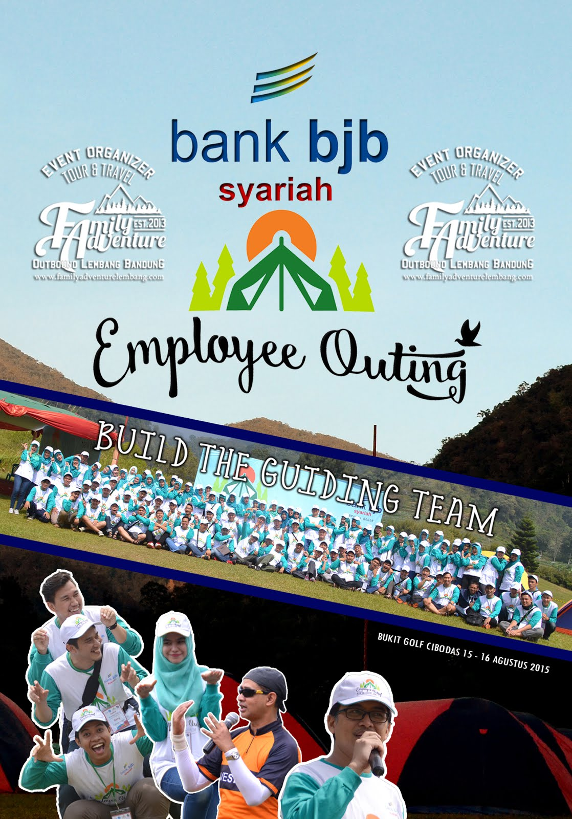 EMPLOEE GATHERING OUTBOUND LEMBANG BANDUN