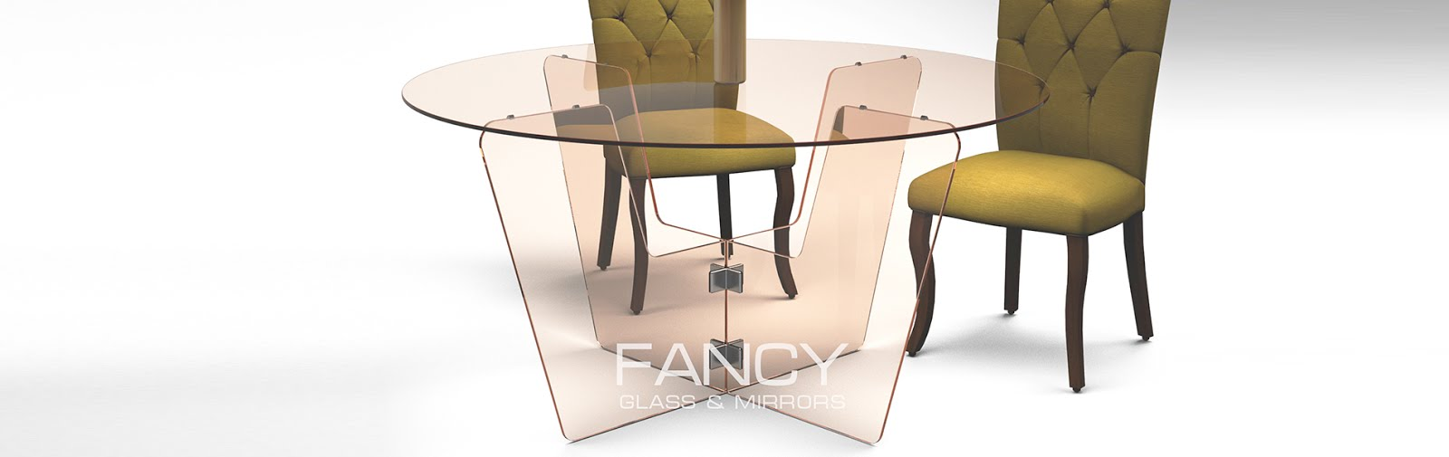 Rounded dinig table
