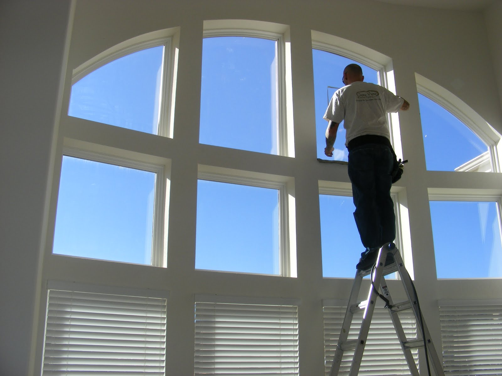 Clear view window films clear uv protection for windows for Film protection uv fenetre