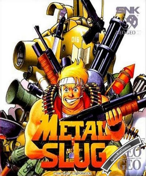 Metal Slug 1 Cover, Poster
