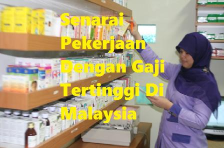 Gaji Tertinggi Di Malaysia