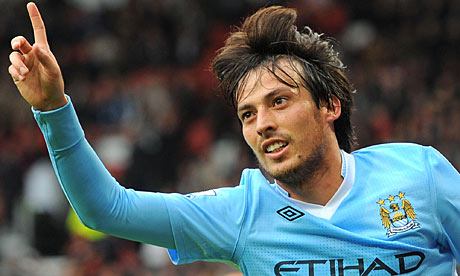 David Silva Spain Football Player 2012