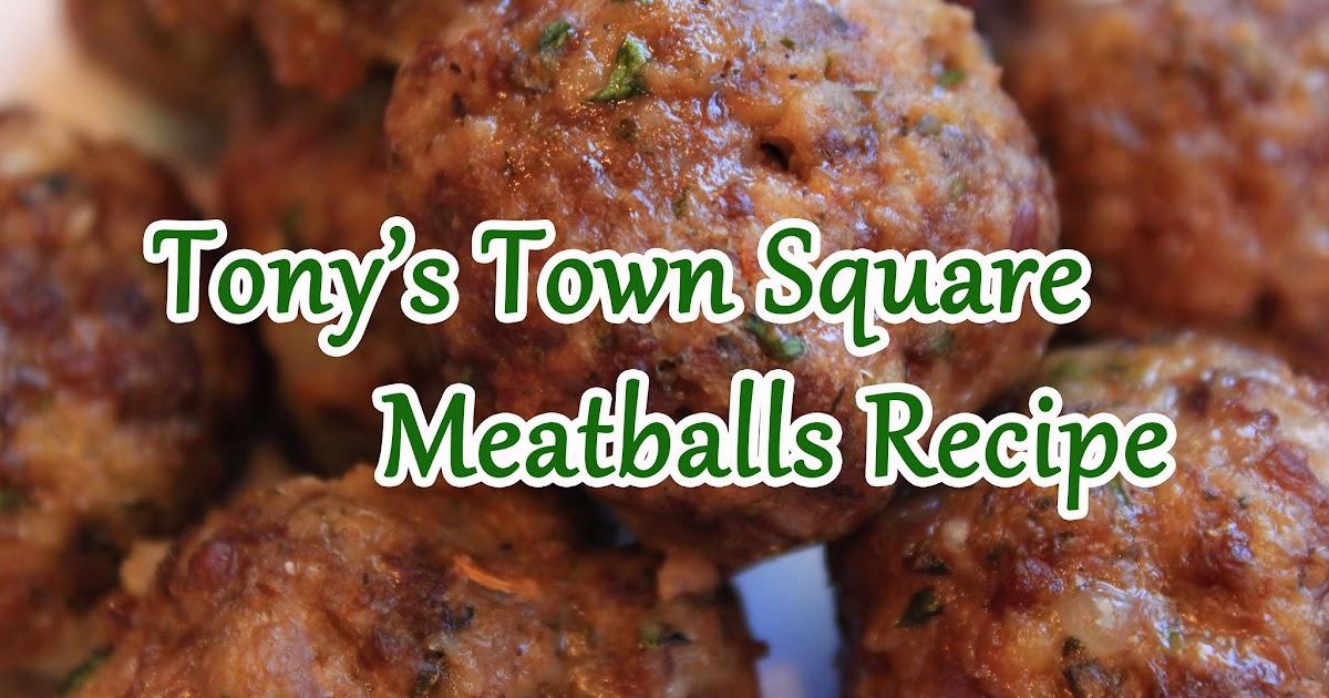 The Disney Diner: Italian Meatballs Recipe from Tony's Town Square ...