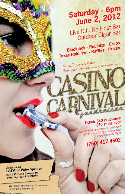June 2 - Casino Carnival Fundraiser PS Police Association