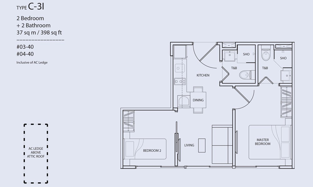Guillemard Suites Floor Plan