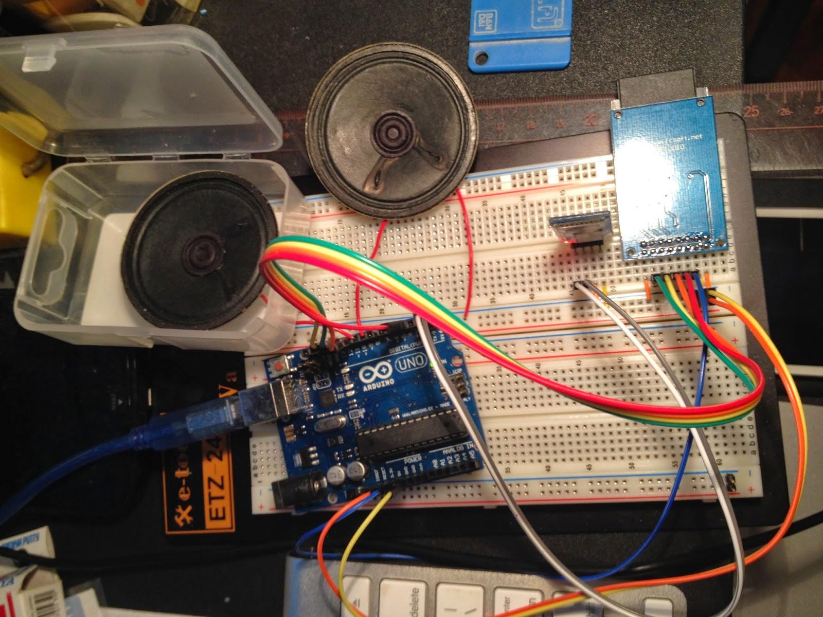 Arduino bluetooth speaker