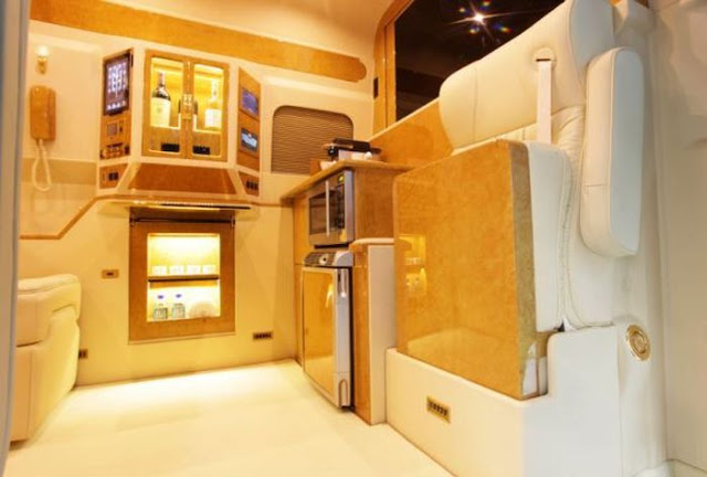 Luxury Mercedes-Benz Sprinter Van