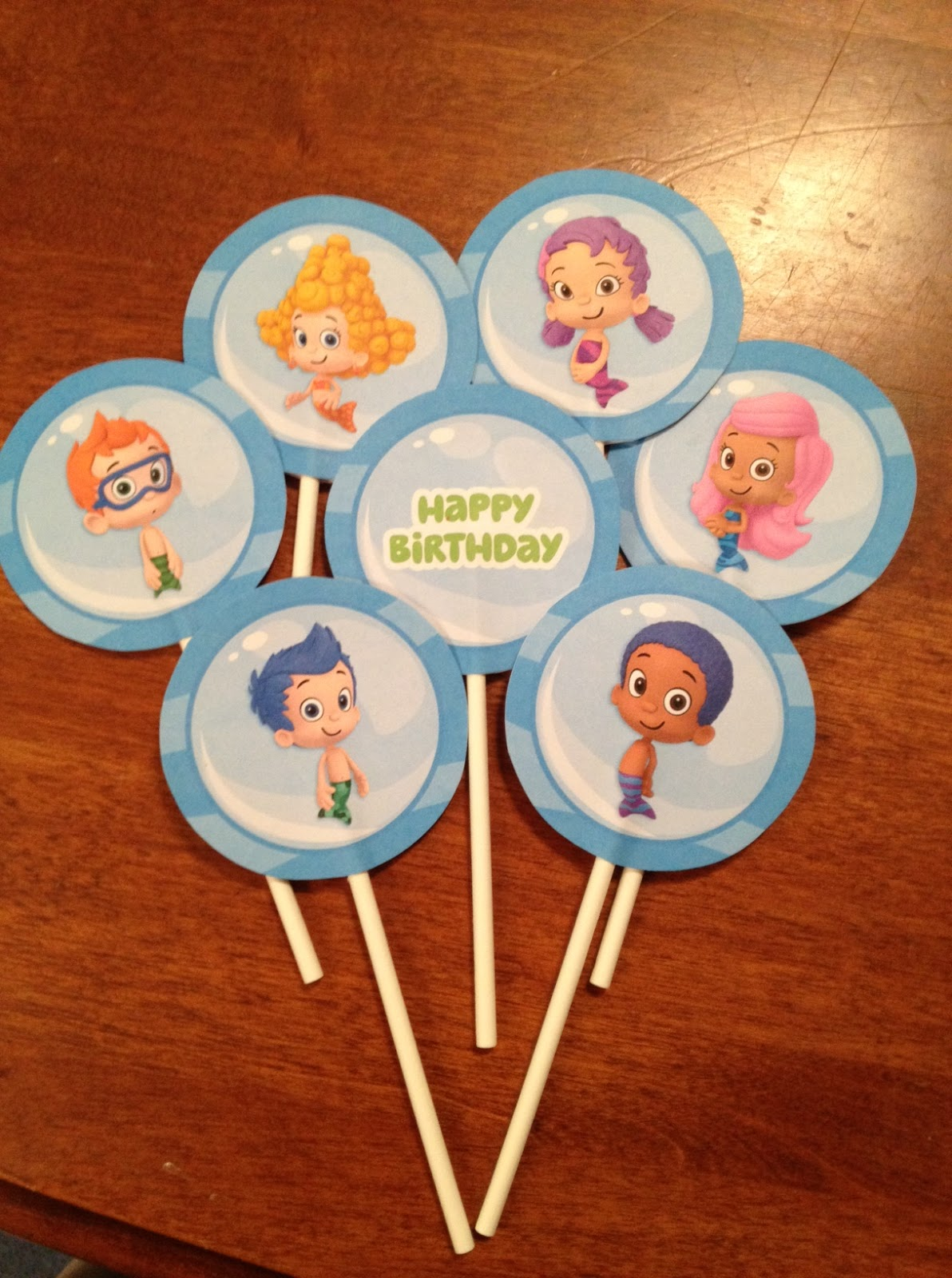 Cute Tutes by Jaci Hayden: A Bubble Guppies Birthday Party