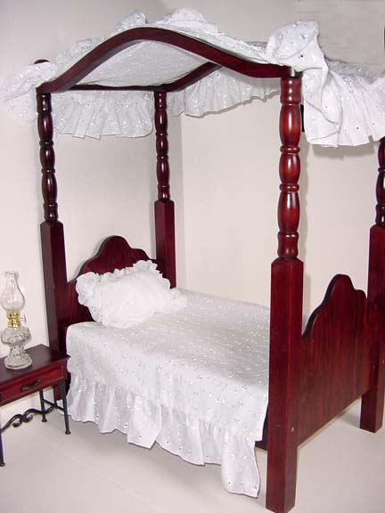 Wood canopy beds kerala house design idea