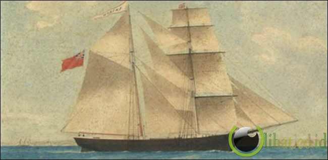 9. The Mary Celeste