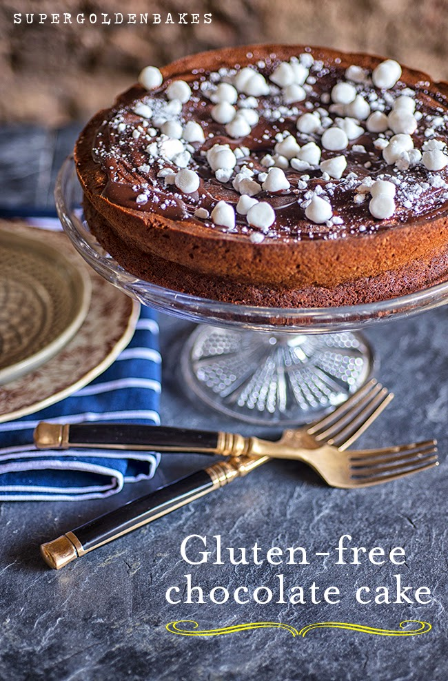 Supergolden Bakes: Ultimate gluten-free chocolate cake