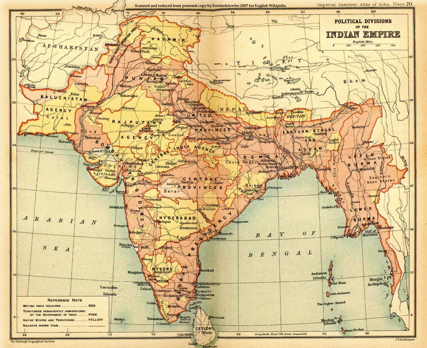 British Empire India