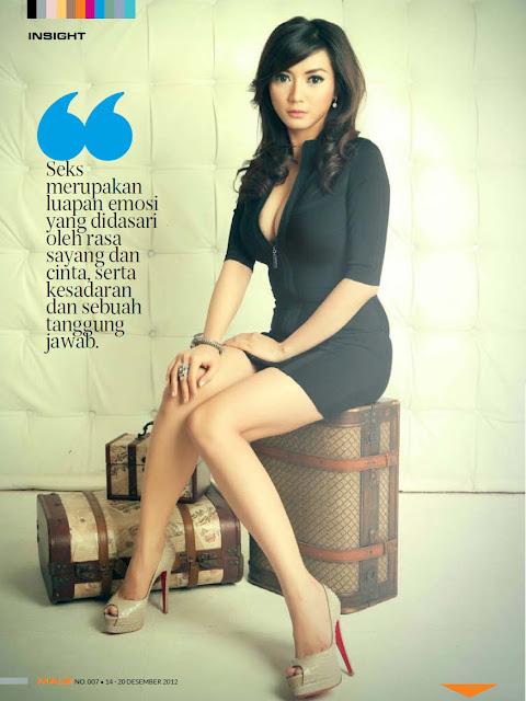 Wiwid Gunawan Cover Majalah Male 014 Foto Artis Payudara Montok Wiwid Gunawan di Majalah Male