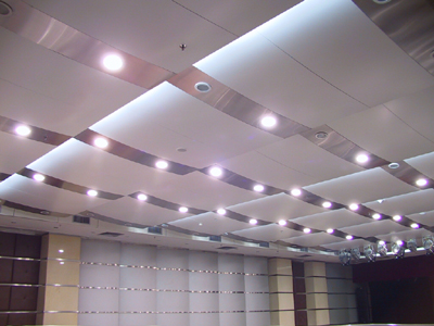 Modern tin ceiling tiles for tin ceiling ideas modern white tin ceiling tiles with silver breaks and lights aloadofball Gallery