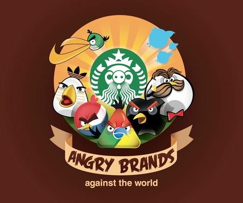 01-Yakushev-Grigory-Group-Photo-Angry-Birds-Mashup-Chrome-Starbucks-Apple-Pepsi-Twitter-Pringles-Nike-Adidas-www-designstack-co
