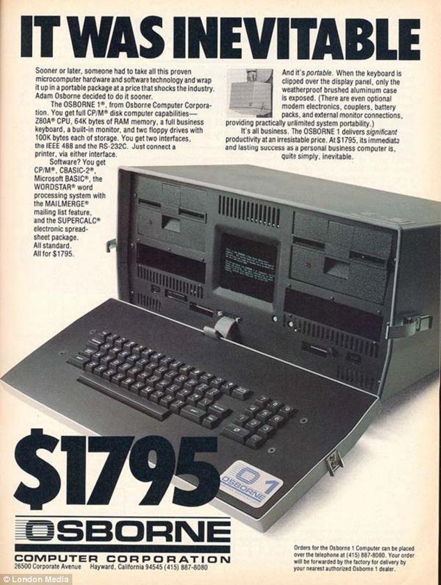 Laptop Pertama di Dunia